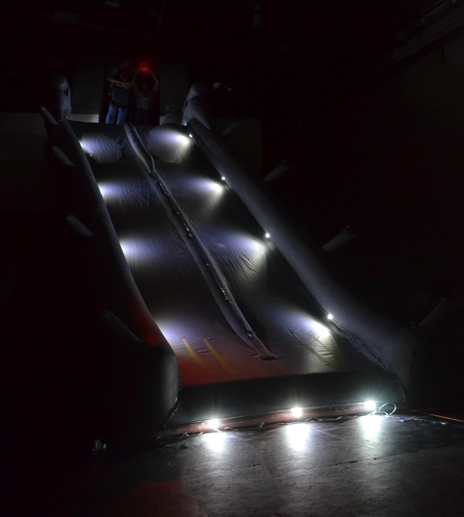 Evacuation Slide Lighting